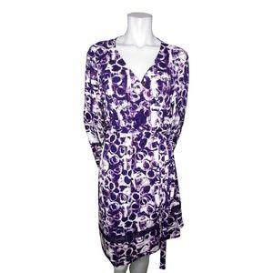 Simply Vera Vera Wang Faux Wrap Dress XL